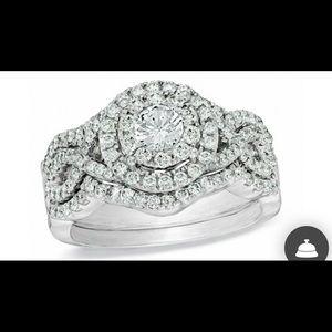 Jewelry - Diamond wedding set 14k white gold